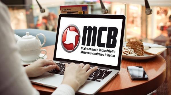 MCB nouveau site. Crédits : ©mcbeton.com 2016